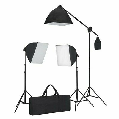 Kit Studio photo 3 softbox avec trépieds éclairage photo vidéo studio professio