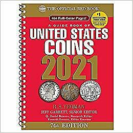 A Guide Book of United States Coins 2021 74th ed. Edition PAPERBACK 2020 by J...