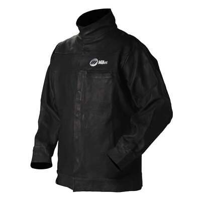 Miller 231092 Grain Leather Welding Jacket 2X-Large