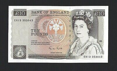 GREAT BRITAIN 10 Pounds 1988 Bank of England, B354 Gill, AU, QEII