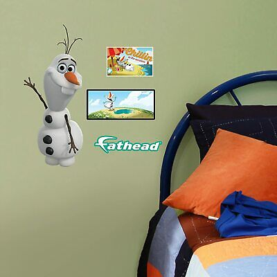 Disney Frozen Olaf Reusable Wall Stickers by Fathead