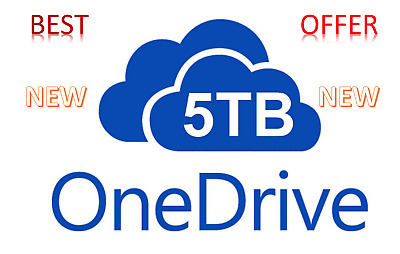 Onedrive 5TB Account - Best Price - Instant Fast Delivery 60m - BEST OFFER