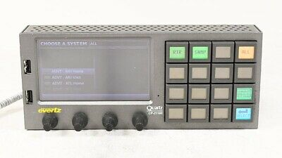 Evertz CP-2116E-H System Control Panel One Touchscreen LCD and 16 LCD Buttons #2