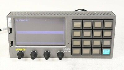 Evertz CP-2116E-H System Control Panel One Touchscreen LCD and 16 LCD Buttons