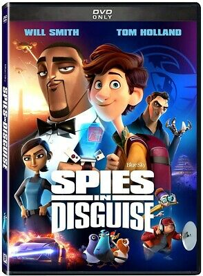 Spies in Disguise DVD 2020 BRAND NEW FAST SHIPPING