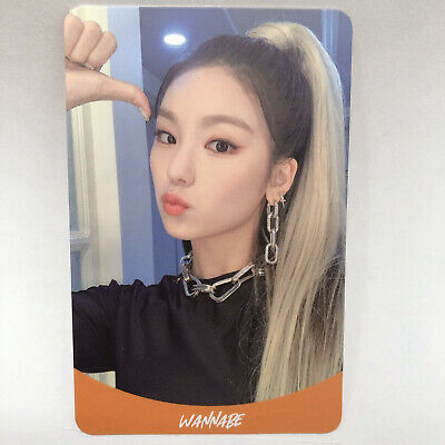 Itzy Yeji Official 2nd Mini Album IT'z ME Photocard O Photo Card jyp ent Kpop