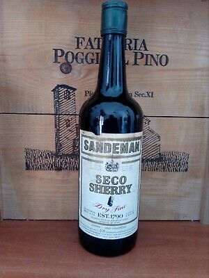 VINTAGE SANDEMAN Sherry Dry seco 75cl 15%