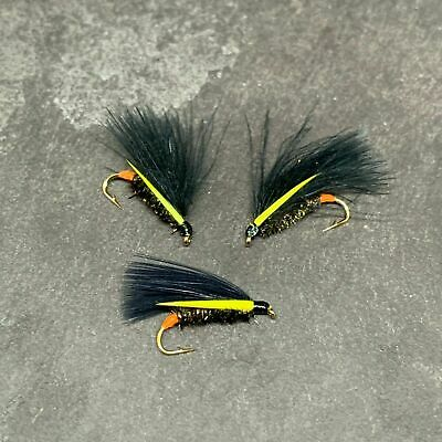 Black Cormorant Wet Trout Fly Fishing fly Size 12-10