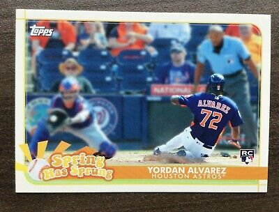 2020 Topps Opening Day Spring Has Sprung Insert ~ Pick your Card