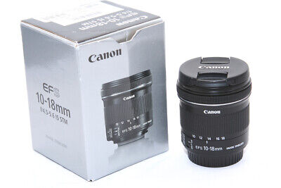Canon EF-S 10-18 mm F/4.5-5.6 IS STM Lens **5577**