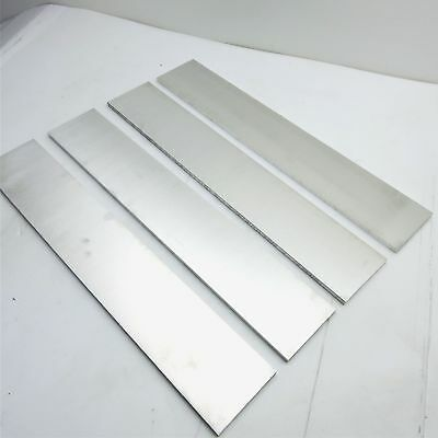".25"" thick  1/4  Aluminum 6061 PLATE  4.0625"" x 22.5"" Long QTY 4  sku 137019"