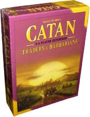 Catan: Traders and Barbarians 5-6 Player Extension (Mayfair Games) MFG New HT1