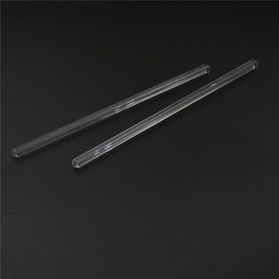 2pcs Lab Use Stir Glass Stirring Rod Laboratory Tool 6*150~GNsw