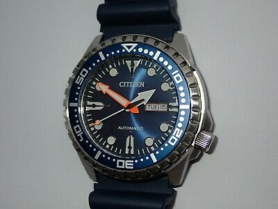 Citizen Divers Promaster Automatic & Hand Wind  Blue 100m Good Lume VGC