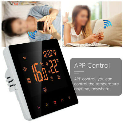 Casa Programmabile Wi-Fi Wireless Digitale Termostato Touch Screen LCD App Del