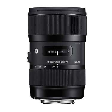 Sigma 18-35mm F1.8 DC HSM Lens for Canon  210101