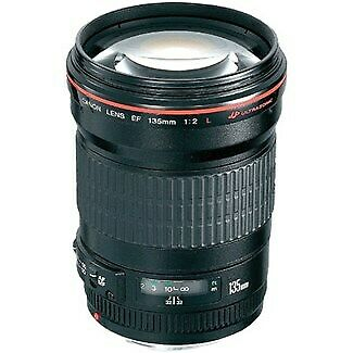 Used Canon 135mm F2 L USM Lens