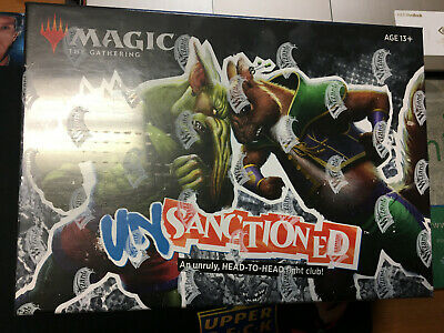 Magic The Gathering MTG Unsanctioned Box Set Sealed. Full art lands INCLUDED.