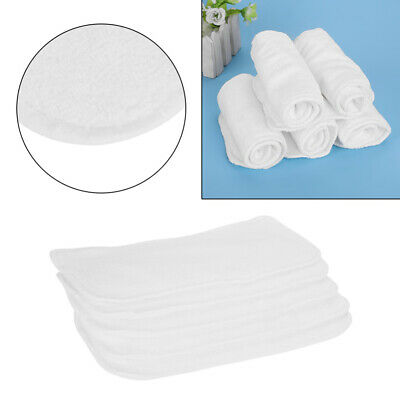 Bamboo Fiber Baby Inserts Nappy Liners Diapers Reusable Washable 5Pcs 33*13cm
