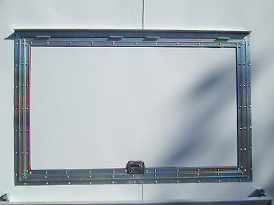 "Concession Serving Window size 40"" X 74""   NO GLASS  -  LIFETIME WARRANTY !!"