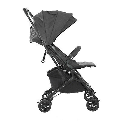 Baby Delight Go with Me Dart Ultra-Compact Stroller, Charcoal Tweed - NEW