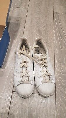 Adidas Superstar Mono White BA8380 Leather Preschool KIDS Shoes