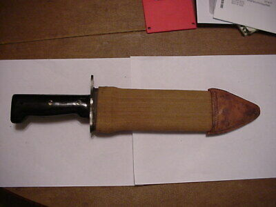 Bolo knife made in the 1970s in Japan with machete grips