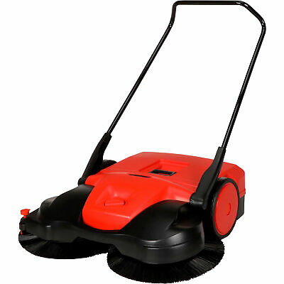 Bissell Big Green Commercial 31in Deluxe Push Power Sweeper 13.5-Gal Cap