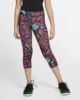 Girls Nike One Tight Fit Capri.  X/Large (13-15 years).   CJ7031-010