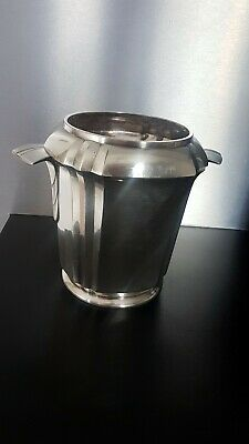 Ancien Seau A Champagne Orfèvrerie GALLIA CHRISTOFLE art Deco Old Bucket 1930/40