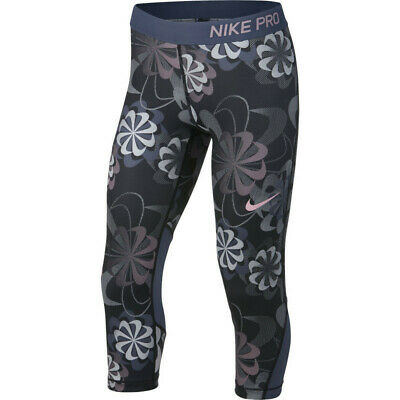 Girls Nike Pro Tight Fit Capri.  X/Large (13-15 years).   938996-010