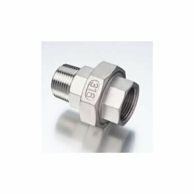 BSP Male/Female Unions 316 Stainless Steel 150LB Conical - 1 unit