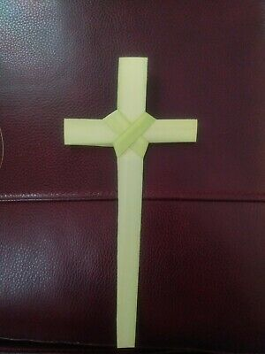 Palm Sunday/ Easter Palm Bud Crosses 8-10in qty 25