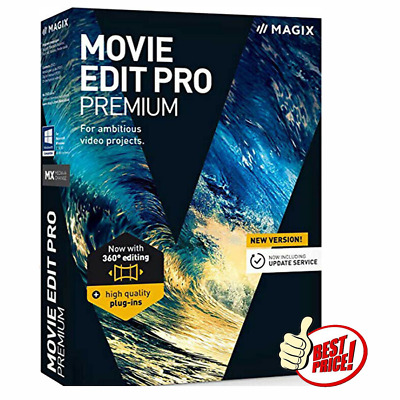 MAGIX Movie Edit Pro Premium 2020 ✔️ Liftime License ✔️ FAST DELIVERY {OFFER} ✔️