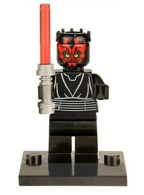 Darth Maul Star Wars Sith Minifigure Figure Usa Seller New In Package