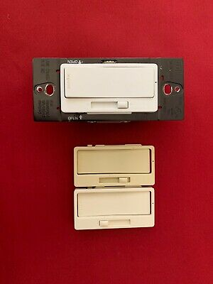 LeGrand Pass & Seymour CFL/LED Dimmer Switches W/ Alternate Tri-Color Plates