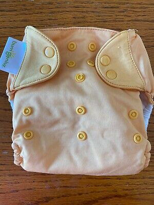 Bumgenius Freetime All In One Reusable AIO Cloth Diaper Yellow