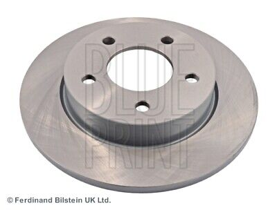 2x Brake Discs (Pair) Solid Rear 265mm ADM543115 Blue Print Set 1223540 1223543