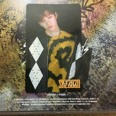 SKZ2020 Stray kids straykids Japan cd  Bang Chan Only photo card  Limited