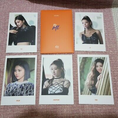 Itzy Official 2nd Mini Album IT'z ME Reservation Special Postcards O Photo Kpop