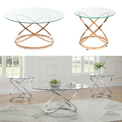 Oval Glass Coffee Table Glass Sofa Dining Table Modern Retro Furniture Reception