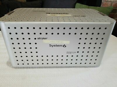 Stryker System 6 Sterilization Case with Insert 6102-454