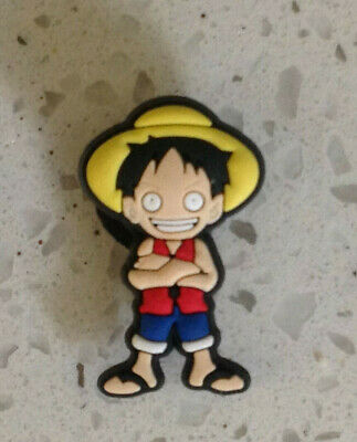 One Piece Anime Jibbitz Crocs Shoe Bracelet Wristband Charm