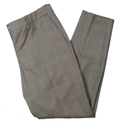 BOSS Hugo Boss Womens Tinufa1 Virgin Wool Dress Pants Trousers BHFO 8742