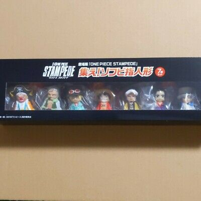 ONE PIECE STAMPEDE Gather! Soft finger Puppet Movie Version From Japan