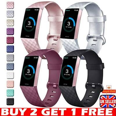 Fitbit Charge 3 Wrist Straps Wristbands -Best Replacement Accessory Watch Bands