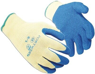 434 made with KevlarLatex Grip Gloves Med A610YBLM Portwest