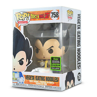 Funko POP! Dragon Ball Z - Vegeta (Eating Noodles) 2020 ECCC Shared Exclusive