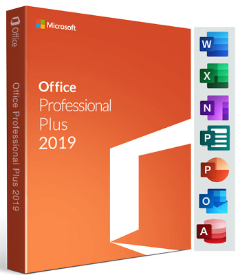 OFFICE PROFESSIONAL PLUS 2019 Retail KEY 1PC + Link all Languages + Instructions