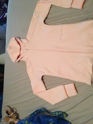 Girls Baby Pink Adidas Jacket 13-14 Years